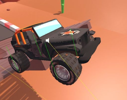 KrawlZone Game Jeep