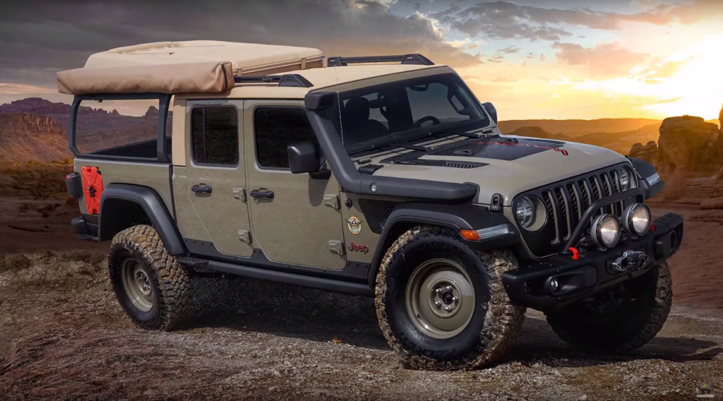 Gladiator Concepts to Descend on Moab for Easter Jeep