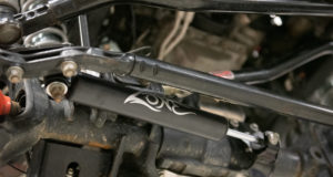 Zone jeep JL Steering Stabilizer installed