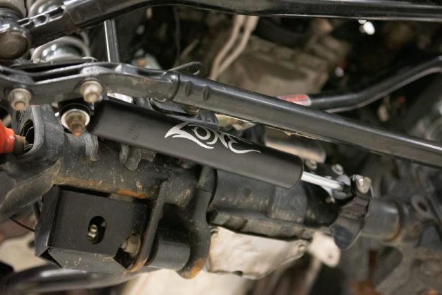 Zone jeep JL Steering Stabilizer installed