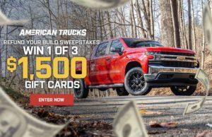 American trucks Thumbnail, Win Cash